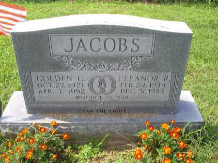 JACOBS, ELEANOR R. - Ross County, Ohio | ELEANOR R. JACOBS - Ohio Gravestone Photos