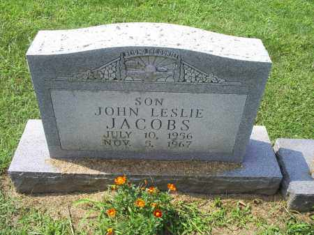 JACOBS, JOHN LESLIE - Ross County, Ohio | JOHN LESLIE JACOBS - Ohio Gravestone Photos