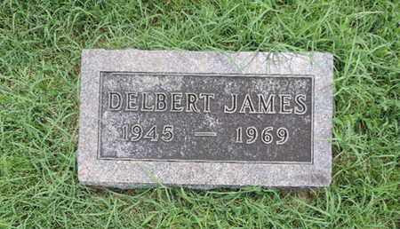 JAMES, DELBERT - Ross County, Ohio | DELBERT JAMES - Ohio Gravestone Photos