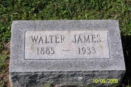 JAMES, WALTER - Ross County, Ohio | WALTER JAMES - Ohio Gravestone Photos