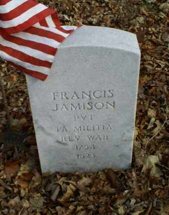 JAMISON, FRANCIS - Ross County, Ohio | FRANCIS JAMISON - Ohio Gravestone Photos