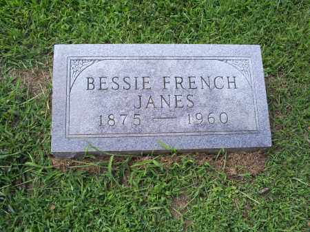 FRENCH JANES, BESSIE - Ross County, Ohio | BESSIE FRENCH JANES - Ohio Gravestone Photos
