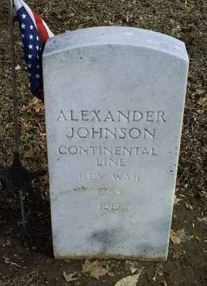 JOHNSON, ALEXANDER - Ross County, Ohio | ALEXANDER JOHNSON - Ohio Gravestone Photos