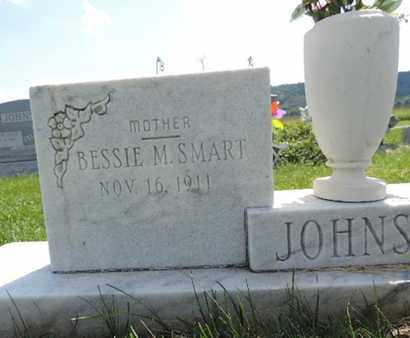 SMART JOHNSON, BESSIE M. - Ross County, Ohio   BESSIE M. SMART JOHNSON - Ohio Gravestone Photos