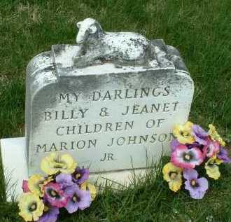 JOHNSON, BILLY - Ross County, Ohio | BILLY JOHNSON - Ohio Gravestone Photos