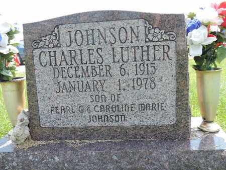 JOHNSON, CHARLES LUTHER - Ross County, Ohio | CHARLES LUTHER JOHNSON - Ohio Gravestone Photos