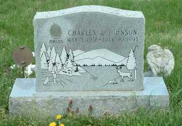 JOHNSON, CHARLES A. - Ross County, Ohio | CHARLES A. JOHNSON - Ohio Gravestone Photos