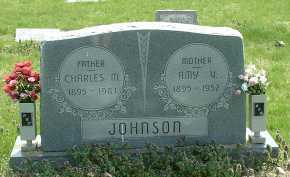 JOHNSON, CHARLES M. - Ross County, Ohio | CHARLES M. JOHNSON - Ohio Gravestone Photos