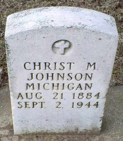 JOHNSON, CHRIST M. - Ross County, Ohio | CHRIST M. JOHNSON - Ohio Gravestone Photos