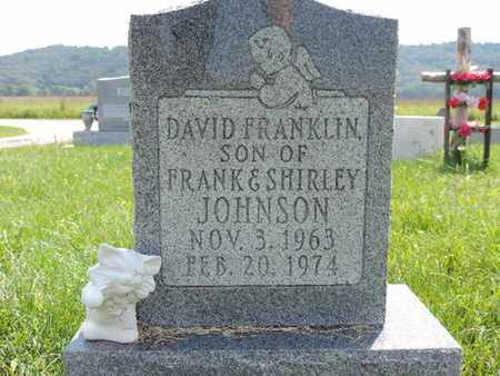 JOHNSON, DAVID FRANKLIN - Ross County, Ohio | DAVID FRANKLIN JOHNSON - Ohio Gravestone Photos