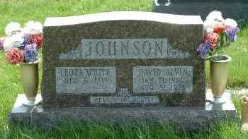 WHITE JOHNSON, LEOTA - Ross County, Ohio | LEOTA WHITE JOHNSON - Ohio Gravestone Photos