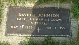 JOHNSON, DAVID F. - Ross County, Ohio | DAVID F. JOHNSON - Ohio Gravestone Photos