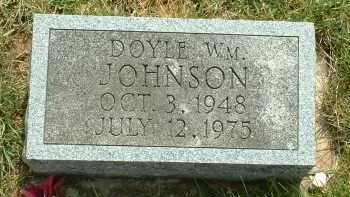 JOHNSON, DOYLE WM. - Ross County, Ohio | DOYLE WM. JOHNSON - Ohio Gravestone Photos