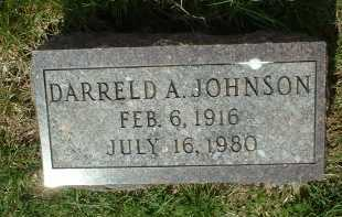 JOHNSON, DARRELD A. - Ross County, Ohio | DARRELD A. JOHNSON - Ohio Gravestone Photos