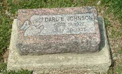 JOHNSON, DARL E. - Ross County, Ohio | DARL E. JOHNSON - Ohio Gravestone Photos