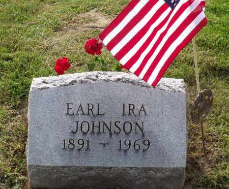 JOHNSON, EARL IRA - Ross County, Ohio | EARL IRA JOHNSON - Ohio Gravestone Photos