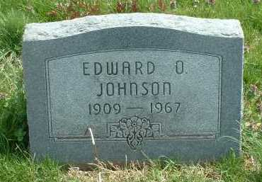 JOHNSON, EDWARD O. - Ross County, Ohio | EDWARD O. JOHNSON - Ohio Gravestone Photos