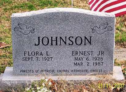 JOHNSON, ERNEST JR. - Ross County, Ohio | ERNEST JR. JOHNSON - Ohio Gravestone Photos