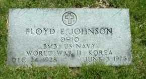 JOHNSON, FLOYD E. - Ross County, Ohio | FLOYD E. JOHNSON - Ohio Gravestone Photos