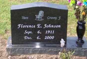 JOHNSON, FLORENCE E. - Ross County, Ohio | FLORENCE E. JOHNSON - Ohio Gravestone Photos