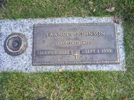 JOHNSON, FRANCES - Ross County, Ohio | FRANCES JOHNSON - Ohio Gravestone Photos