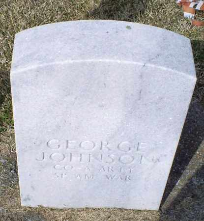 JOHNSON, GEORGE - Ross County, Ohio | GEORGE JOHNSON - Ohio Gravestone Photos