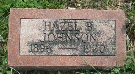 JOHNSON, HAZEL B. - Ross County, Ohio | HAZEL B. JOHNSON - Ohio Gravestone Photos