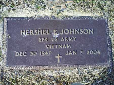 JOHNSON, HERSHEL E. - Ross County, Ohio | HERSHEL E. JOHNSON - Ohio Gravestone Photos