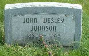JOHNSON, JOHN WESLEY - Ross County, Ohio | JOHN WESLEY JOHNSON - Ohio Gravestone Photos