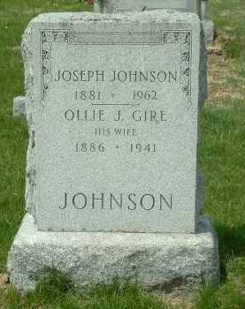 GIRE JOHNSON, OLLIE J. - Ross County, Ohio | OLLIE J. GIRE JOHNSON - Ohio Gravestone Photos