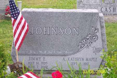 JOHNSON, JIMMY E. - Ross County, Ohio | JIMMY E. JOHNSON - Ohio Gravestone Photos
