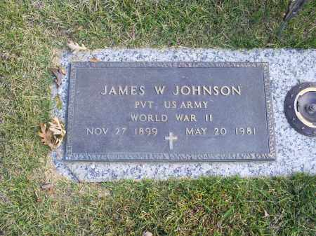 JOHNSON, JAMES W. - Ross County, Ohio | JAMES W. JOHNSON - Ohio Gravestone Photos