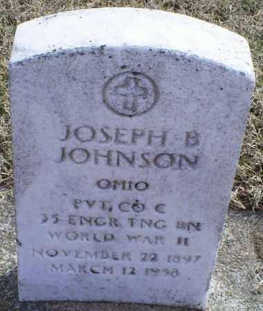 JOHNSON, JOSEPH B. - Ross County, Ohio   JOSEPH B. JOHNSON - Ohio Gravestone Photos