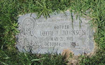 JOHNSON, LOTTIE E. - Ross County, Ohio | LOTTIE E. JOHNSON - Ohio Gravestone Photos