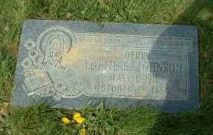 JOHNSON, LOTTIE E. - Ross County, Ohio | LOTTIE E. JOHNSON - Ohio Gravestone Photos