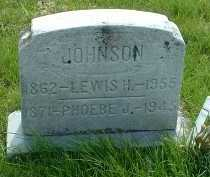 JOHNSON, PHOEBE J. - Ross County, Ohio | PHOEBE J. JOHNSON - Ohio Gravestone Photos