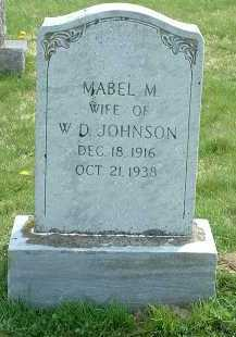 JOHNSON, MABEL M. - Ross County, Ohio | MABEL M. JOHNSON - Ohio Gravestone Photos