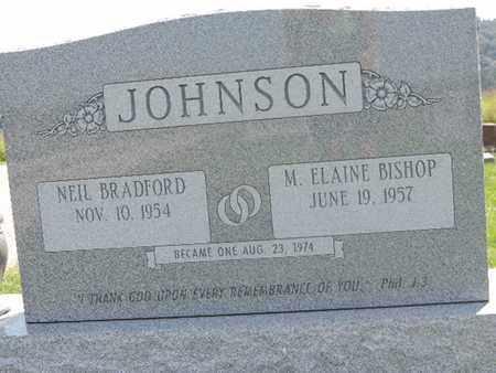 BISHOP JOHNSON, M. ELAINE - Ross County, Ohio | M. ELAINE BISHOP JOHNSON - Ohio Gravestone Photos
