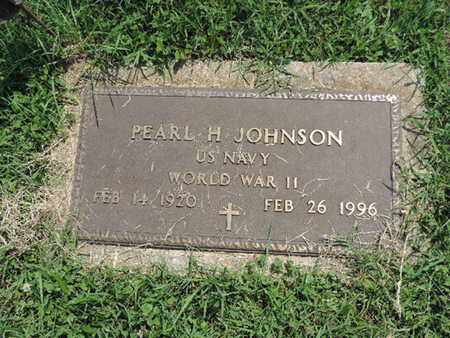 JOHNSON, PEARL H - Ross County, Ohio | PEARL H JOHNSON - Ohio Gravestone Photos