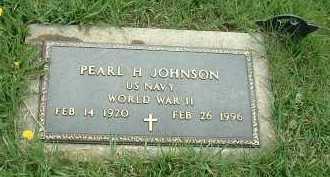 JOHNSON, PEARL H. - Ross County, Ohio | PEARL H. JOHNSON - Ohio Gravestone Photos