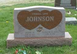 HALE JOHNSON, DARLENE E. - Ross County, Ohio | DARLENE E. HALE JOHNSON - Ohio Gravestone Photos