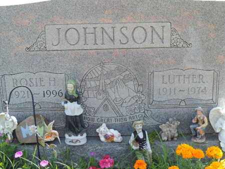 JOHNSON, LUTHER - Ross County, Ohio | LUTHER JOHNSON - Ohio Gravestone Photos