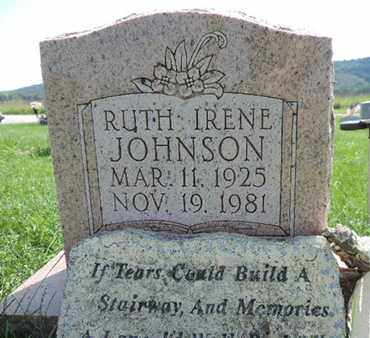 JOHNSON, RUTH IRENE - Ross County, Ohio | RUTH IRENE JOHNSON - Ohio Gravestone Photos
