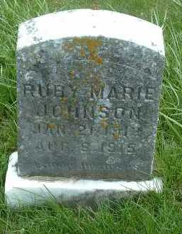 JOHNSON, RUBY MARIE - Ross County, Ohio | RUBY MARIE JOHNSON - Ohio Gravestone Photos