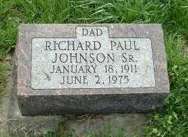 JOHNSON, RICHARD PAUL - Ross County, Ohio | RICHARD PAUL JOHNSON - Ohio Gravestone Photos