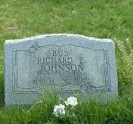 JOHNSON, RICHARD E. - Ross County, Ohio | RICHARD E. JOHNSON - Ohio Gravestone Photos