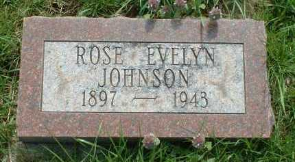 JOHNSON, ROSE EVELYN - Ross County, Ohio | ROSE EVELYN JOHNSON - Ohio Gravestone Photos