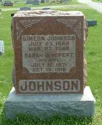 JOHNSON, SIMEON - Ross County, Ohio | SIMEON JOHNSON - Ohio Gravestone Photos