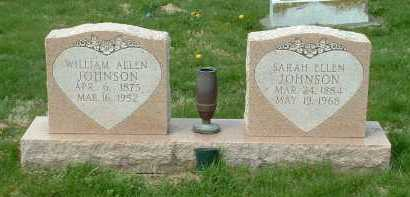 JOHNSON, SARAH ELLEN - Ross County, Ohio | SARAH ELLEN JOHNSON - Ohio Gravestone Photos