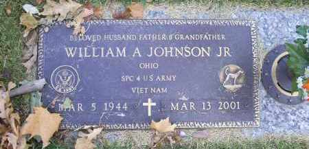 JOHNSON, WILLIAM A. JR. - Ross County, Ohio | WILLIAM A. JR. JOHNSON - Ohio Gravestone Photos